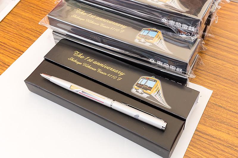 東急電鉄のイチオシはボールペン