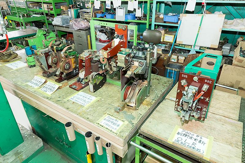 7000系の電磁接触器