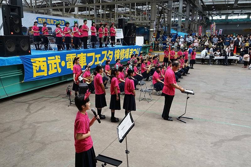 飯能市立飯能第一中学校吹奏楽部の演奏