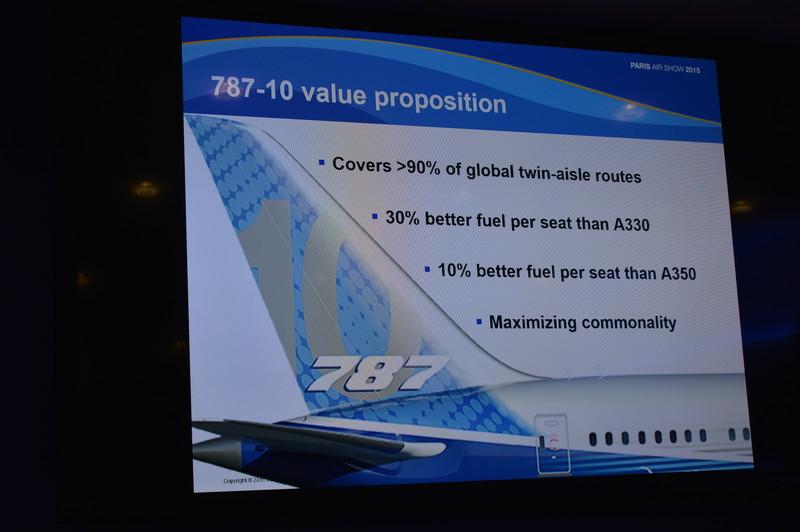 787-10の開発進捗状況