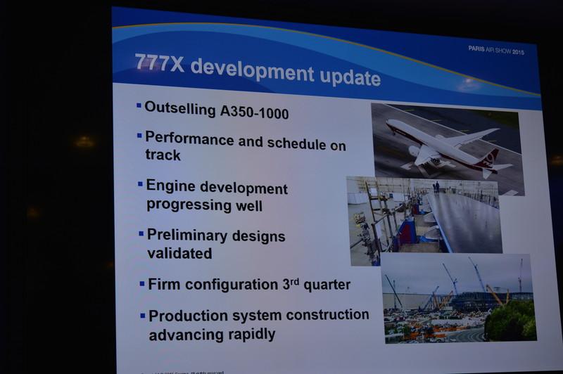777Xの開発進捗状況