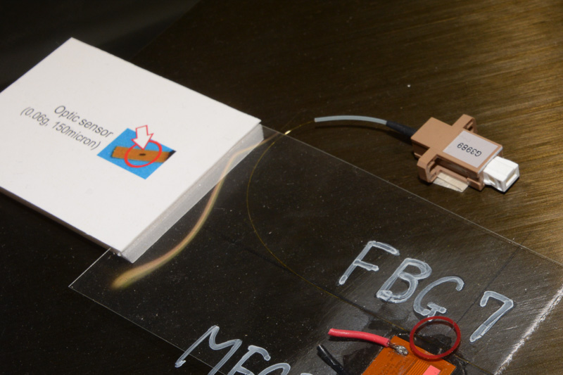 その振動を光センサーが読み取り、異常部位の有無を検出する