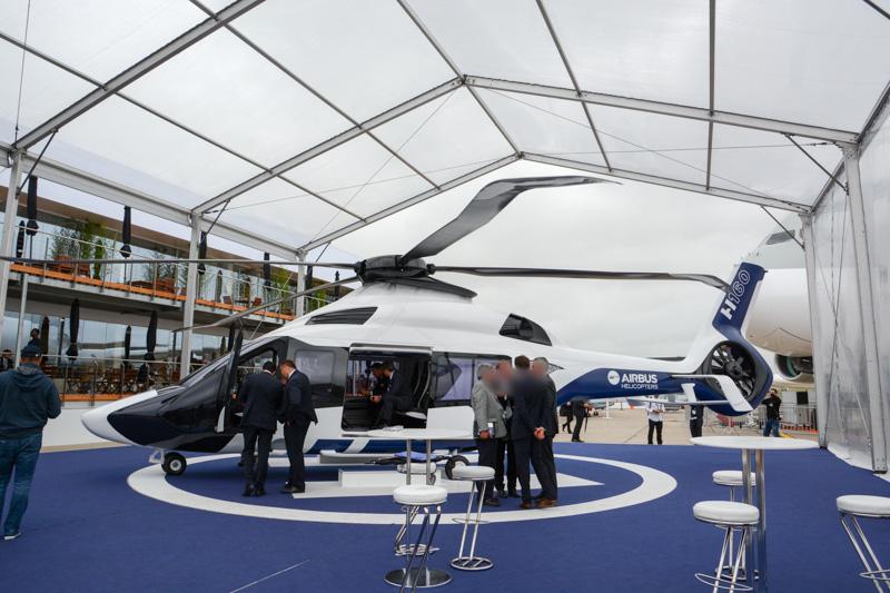 2015年3月に初飛行したばかりのエアバスの商用ヘリコプター「H160」
