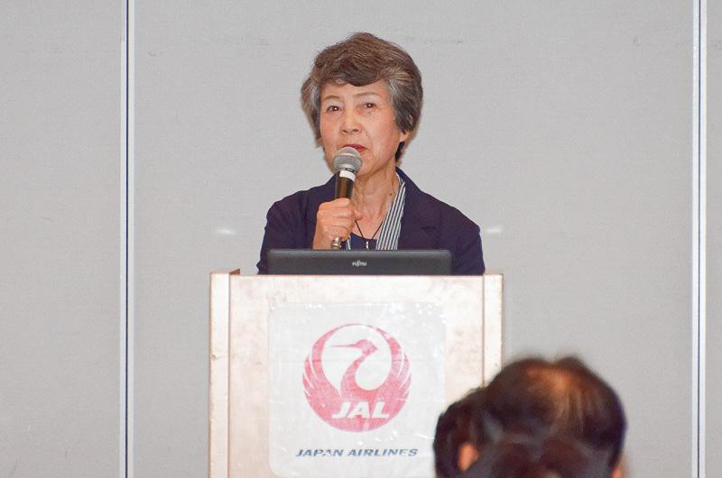 日本航空株式会社 社外取締役 岩田喜美枝氏