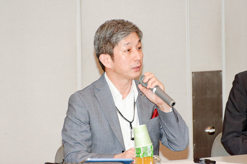 日本航空株式会社 調達本部長 岡敏樹氏