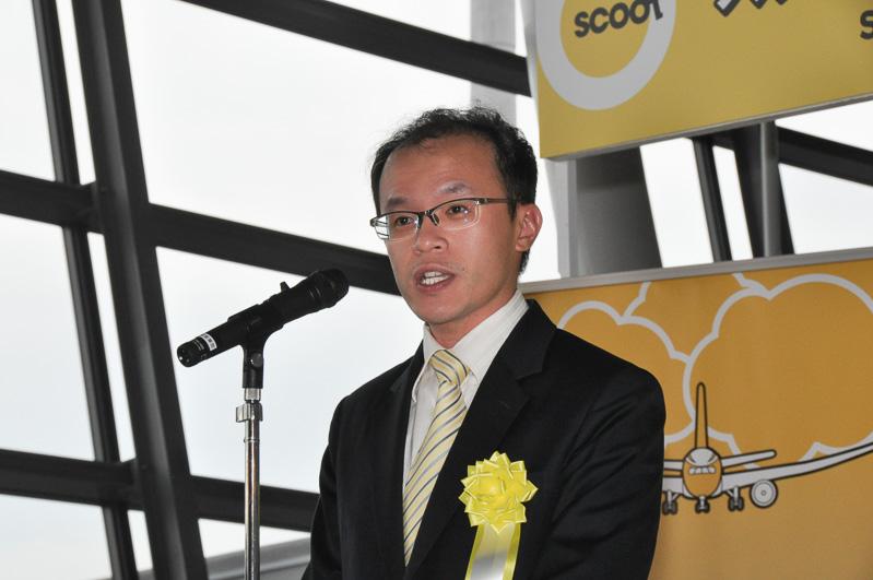 シンガポール国際企業庁(シンガポール大使館商務部)所長 ゴ・ウィミン氏