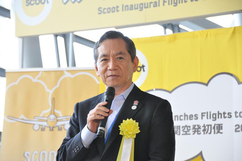 新関西空港株式会社 代表取締役社長兼CEO 安藤圭一氏