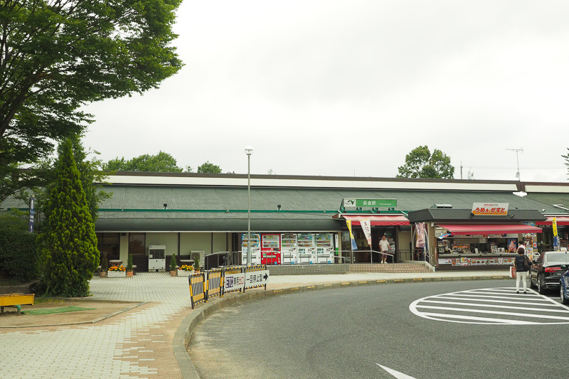 ドッグランが併設されている宮城県の長者原SA。ここまで自宅からおよそ405kmです