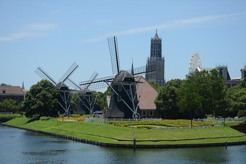 ハウステンボスはオランダの町並みを再現し、ヨーロッパを楽しむテーマパーク