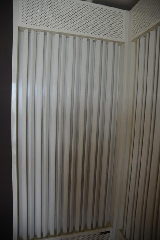 部屋の空調にも輻射パネルが使われている