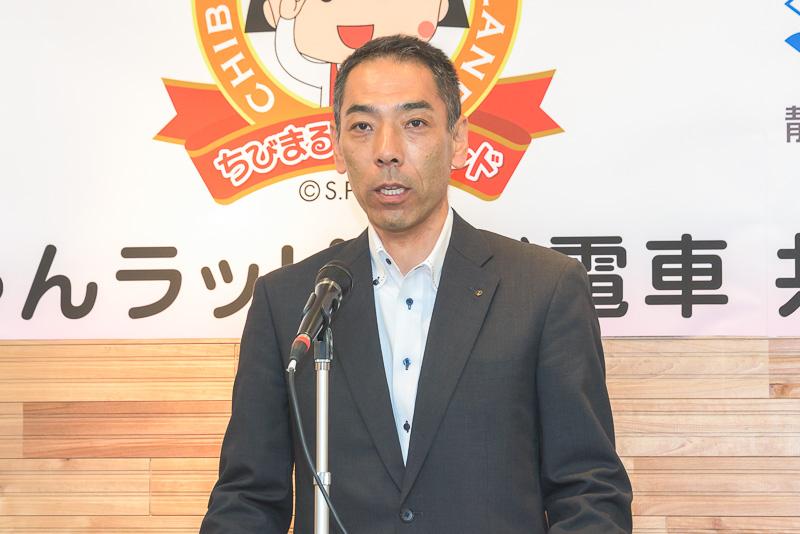 静岡鉄道株式会社 鉄道部 副部長 兼 安全推進課長 北武忠氏