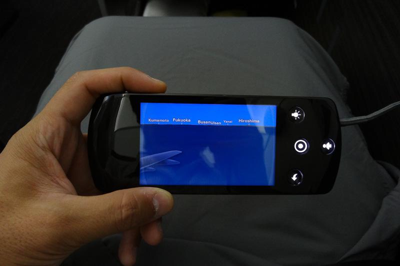 コントローラ側にフライトマップを表示することも可能