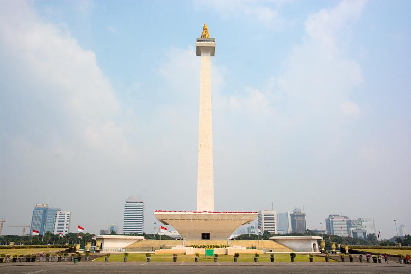 ジャカルタのシンボル、「モナス」こと国家独立記念塔