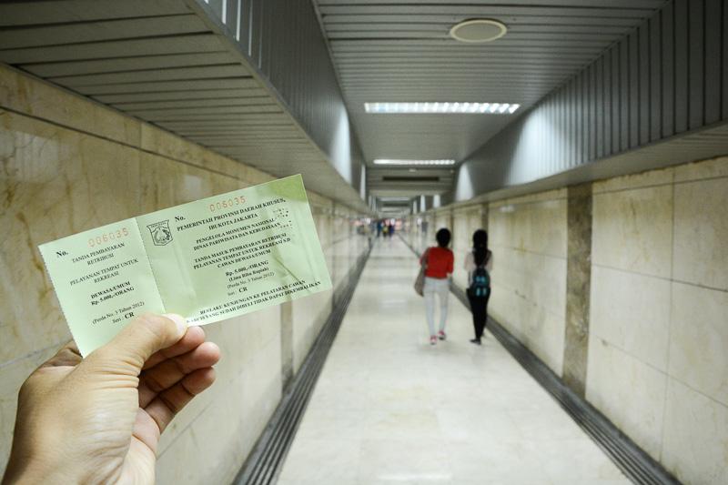 中は独立に至るまでを紹介する博物館になっており5000ルピア(約50円)で見学できる