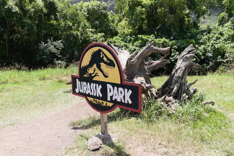 ここは、映画「ジュラシック・パーク」での撮影に使った場所