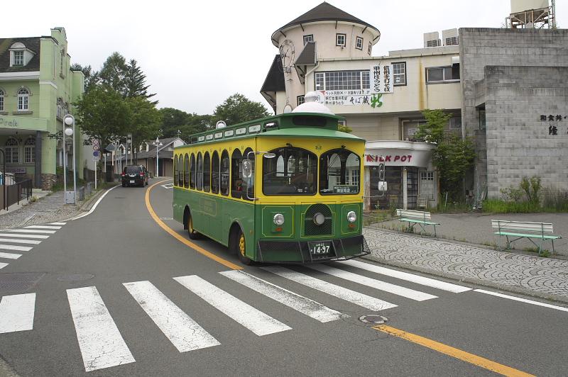 「清里ピクニックバス」を利用しようと思ったが鉄道のダイヤとうまく接続されておらず断念