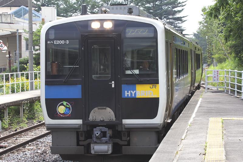 ハイブリッド車両のE200形