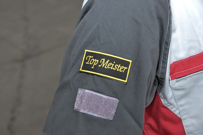 トップマイスターの袖章