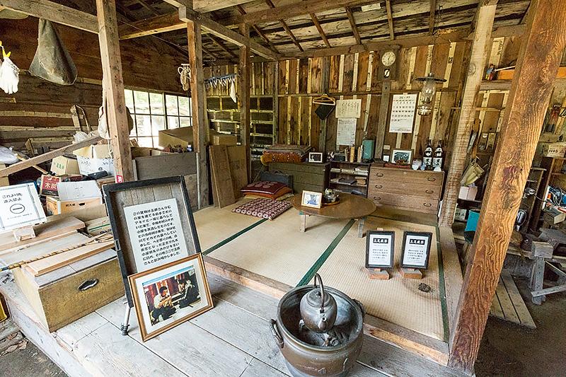 拾ってきた家 ―やがて町の一角にある4番目の家。五郎が愛犬のアキナと暮らしていた