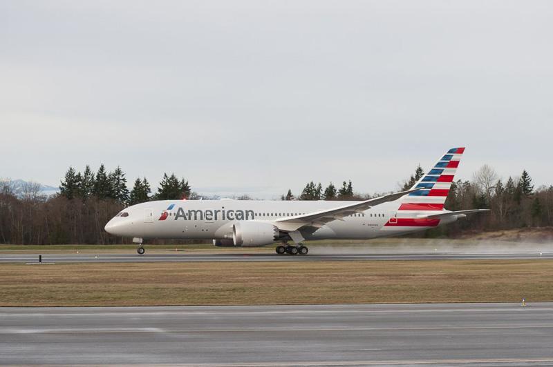 アメリカン航空のボーイング 787-8