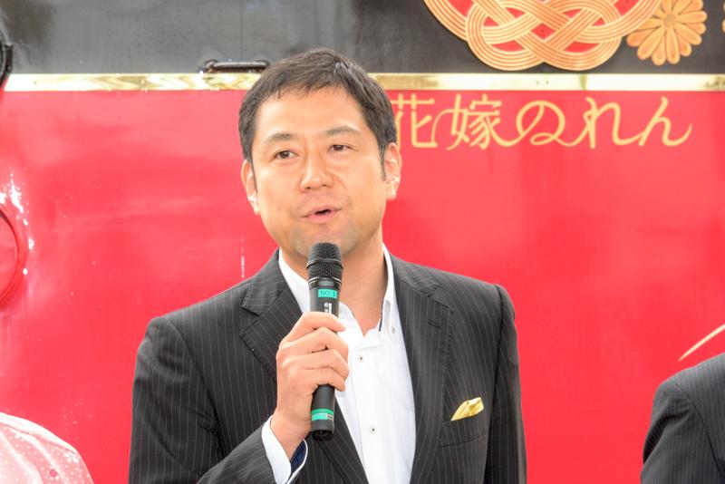 株式会社箔一 代表取締役社長 浅野達也氏