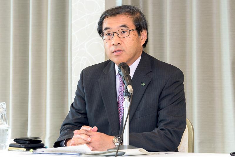 東日本旅客鉄道株式会社 代表取締役副社長 深澤祐二氏