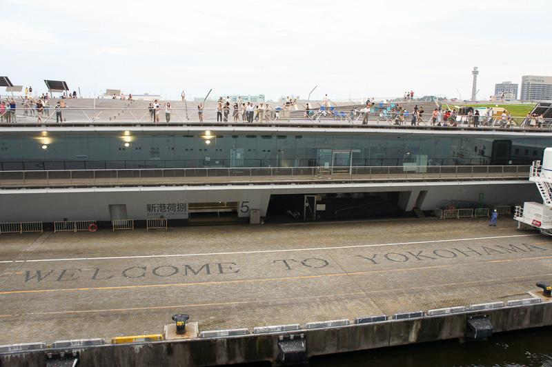 港横浜を象徴する大さん橋