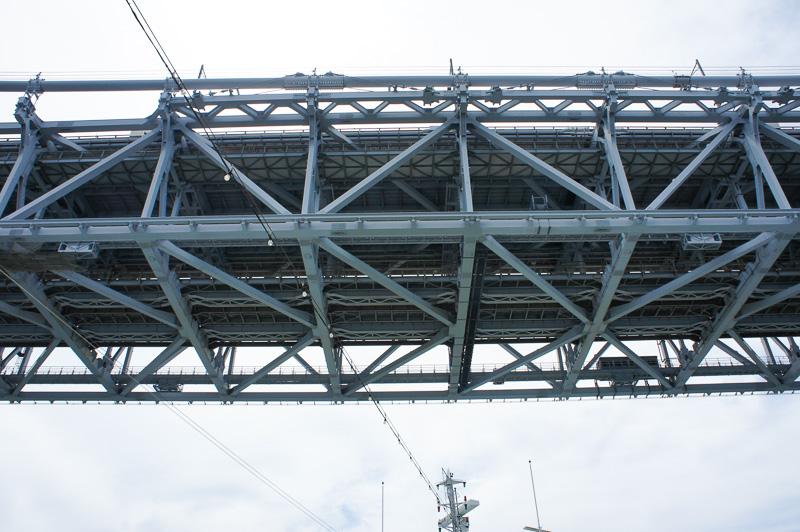 13時頃に瀬戸大橋を通過