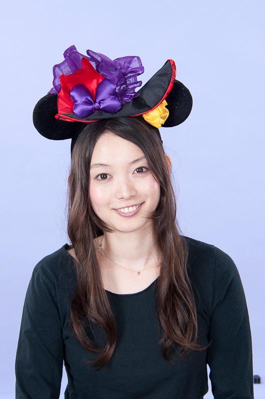 ミニーマウスたちをイメージしたカチューシャ(1800円)