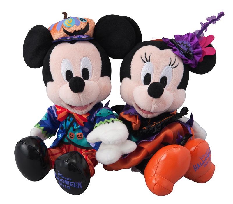 「ミッキーマウスとミニーマウスのぬいぐるみセット」(4800円)