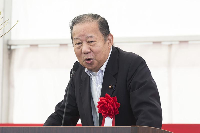 衆議院議員 二階敏博氏「これから一層発展できますように努力を重ねていかなければならない」