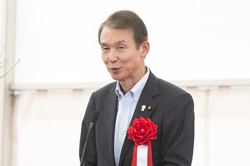 衆議院議員 岸本周平氏「第2阪和道路につなげることを党派を超えて頑張っていく」