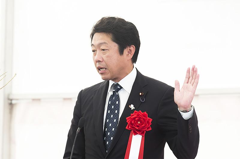 衆議院議員 門博文氏「開通後は自分たちの努力でどこまでできるか真価が問われる」