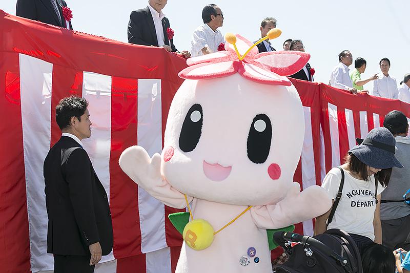 和歌山市ごみ減量推進キャラクター「リリクル」も登場