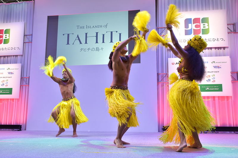 フラダンスの起源とも言われるタヒチアンダンス