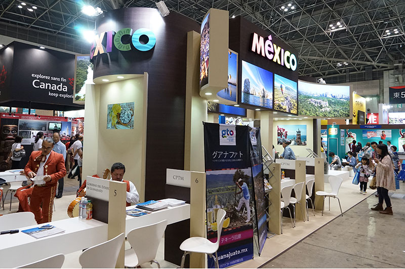 メキシコ観光局ブース
