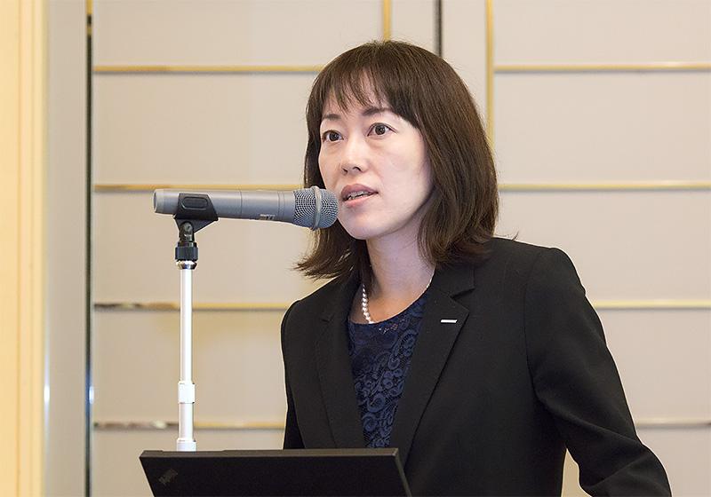 サントリー食品インターナショナル 食品事業本部 ブランド開発第一事業部 課長 五十嵐享子氏