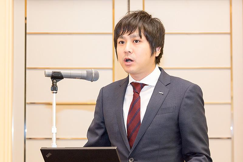 サントリー食品インターナショナル 食品事業本部 商品開発部 小林真一氏