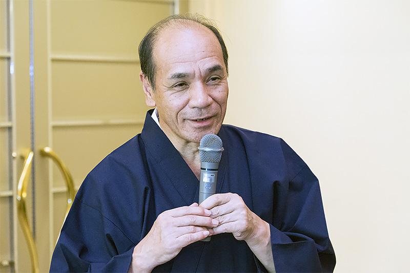 福寿園の茶匠、谷口氏