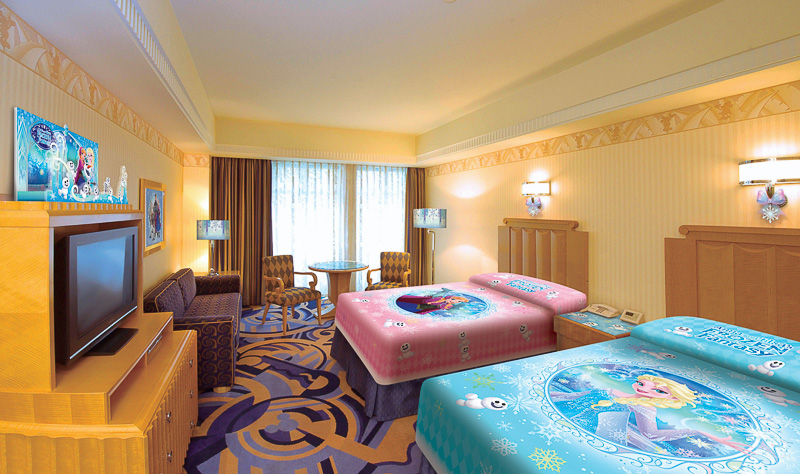 ディズニーアンバサダーホテルに「アナとエルサのフローズンファンタジー」と連動したスペシャルルームが登場