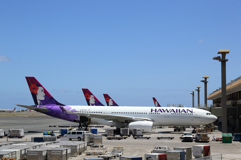 ハワイアン航空のエアバス A330-200型機