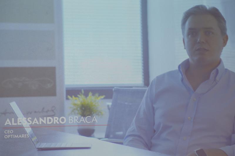 OptimaresのCEO、Alessandro Braca氏のビデオメッセージ