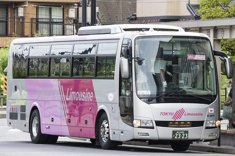 羽田空港線に使用されている東急バスの車両