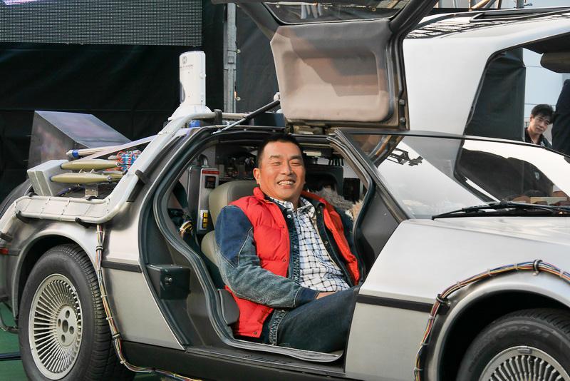 山本さんは、「アメリカ車なので横幅が広く、とても乗りやすい。私でも楽勝です」と笑顔でコメント