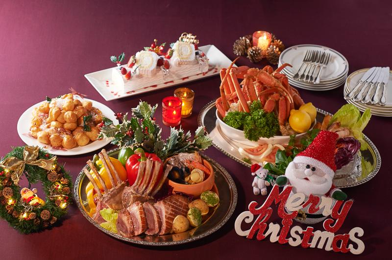 「セリーナ」での「クリスマスディナーバイキング」
