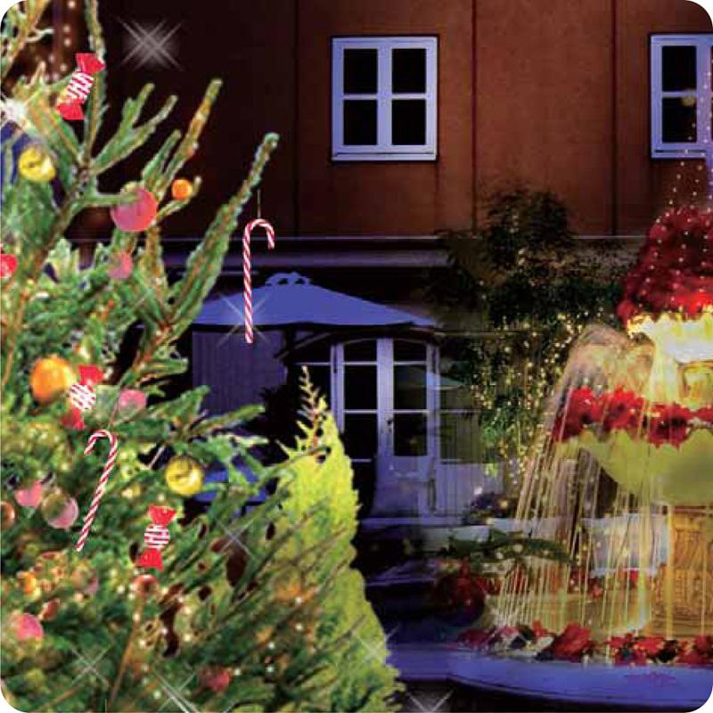 「The Sweet Christmas」クリスマスデコレーション