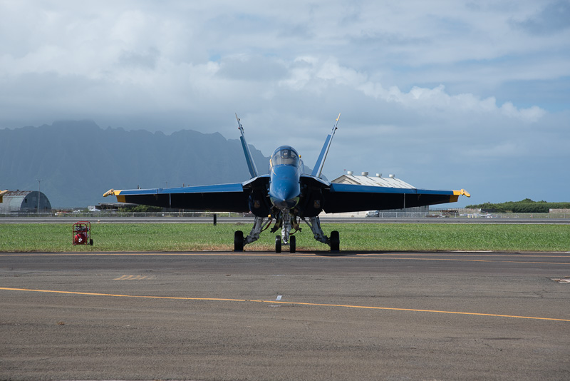 F/A-18A 6機で構成されるブルーエンジェルス