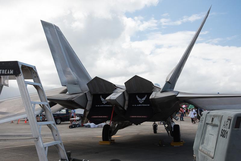 最新鋭戦闘機だけに見せてもよいところと、よくないところがあるようだ