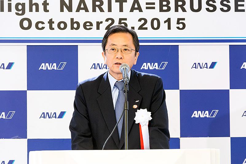 全日本空輸 代表取締役社長 篠辺修氏