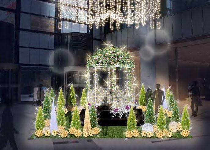 新宿マインズタワー「天空から降り注ぐ無限の星に願いをこめて」(イメージ)